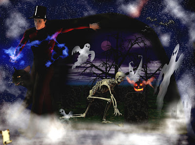 halloween skeleton wallpaper - photo #10