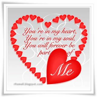 Valentine Love Message Cards | vintoniquemariani