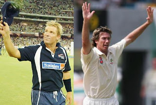 Masters of cricket - Shane Warne and Glenn McGrath