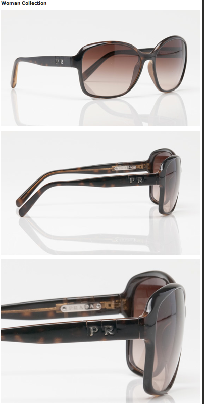 aed9ab48bfed Fashion in the city  Prada Private Customizable Glasses