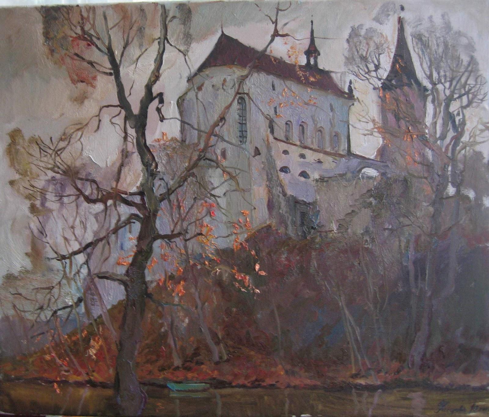 Repinart Home Of Russian Impressionism Gallery Prague
