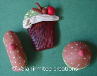 kalanirmitee: lamasa clay craft-fridge magnets