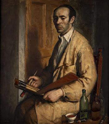 Isaac Díaz Pardo, Self Portrait, Portraits of Painters, Fine arts, Díaz Pardo