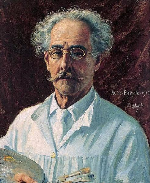 Benedito Calixto, Self Portrait, Portraits of Painters, Fine arts