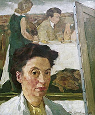 Lotte Laserstein, Portraits of Painters, Fine arts, Self-Portraits