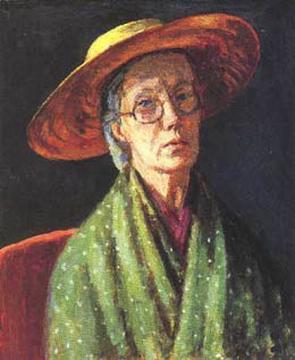 Vanessa Bell, Self Portrait, Portraits of Painters, Fine arts