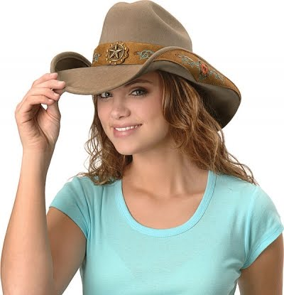 Young woman wearing cowboy hat | Styles I love | Pinterest ...