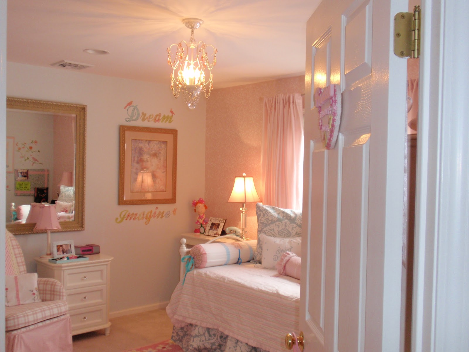 From Junk Room To Beautiful Bedroom The Big Reveal: DIY By Design: My Daughter's Room