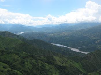 Rio Cauca desde Liborina