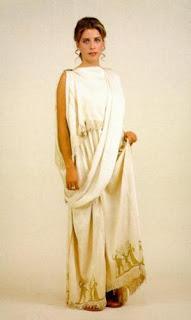 Vestidos griegos antiguos mujer