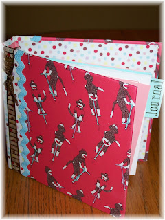 My paper trail altered address books from the dollar tree and a card i love sock monkeys so i made this one for myself i love the way it turned out its so darn cute i had another address book solutioingenieria Image collections