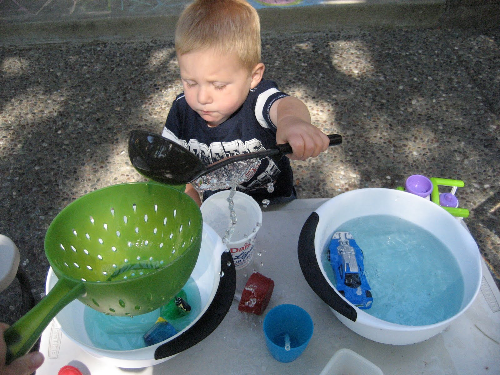 Toddler Approved Camp Mom Water Day Sink Float And Water Table Fun