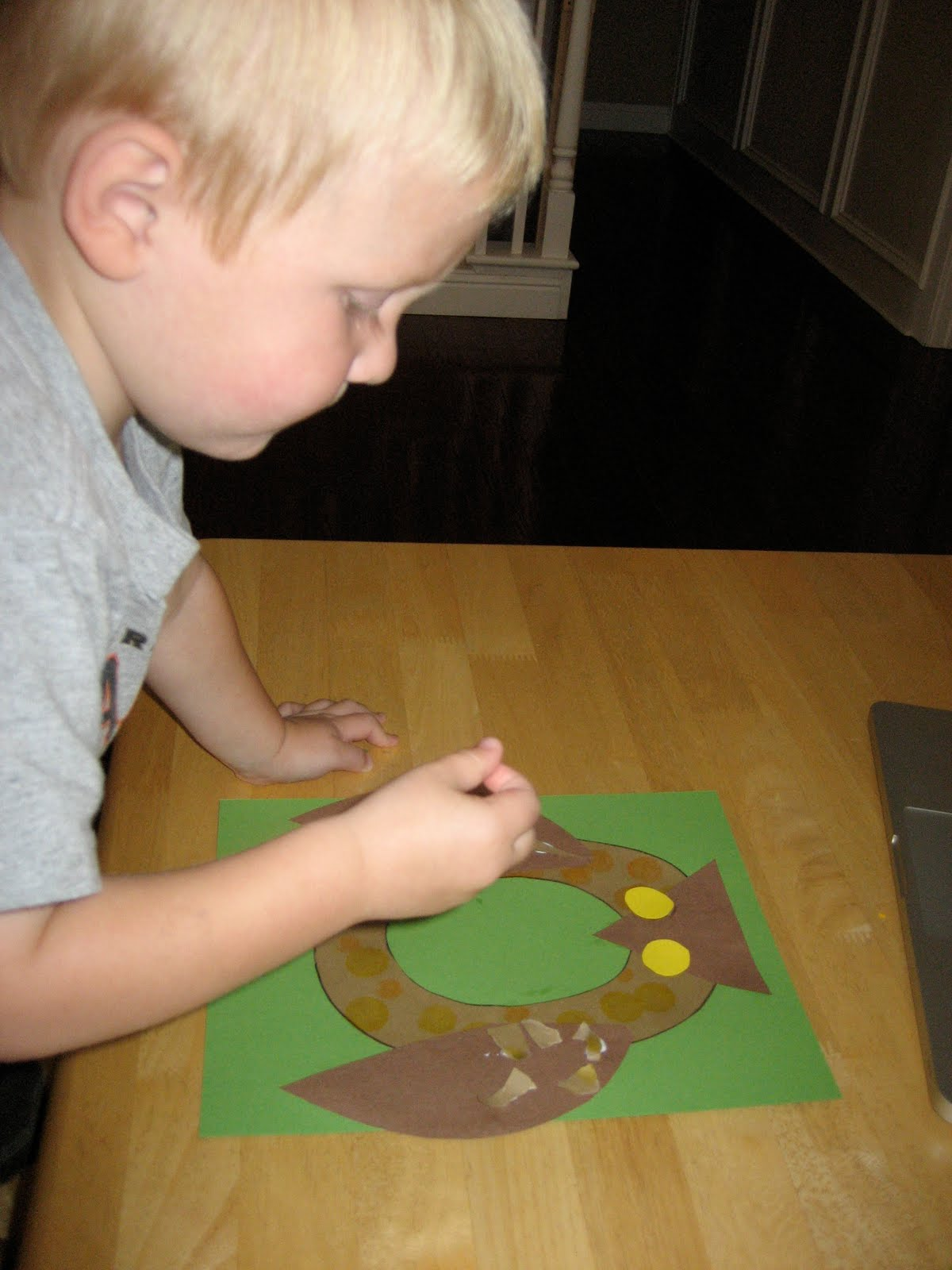 Toddler Approved Textured Letter O Owl