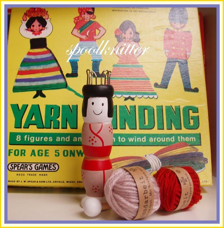 Knitting Nancy Spool Knitter