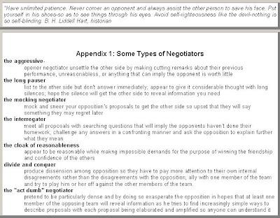 Negotiation paper essays