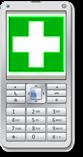 Logo Erste Hilfe auf dem Handy
