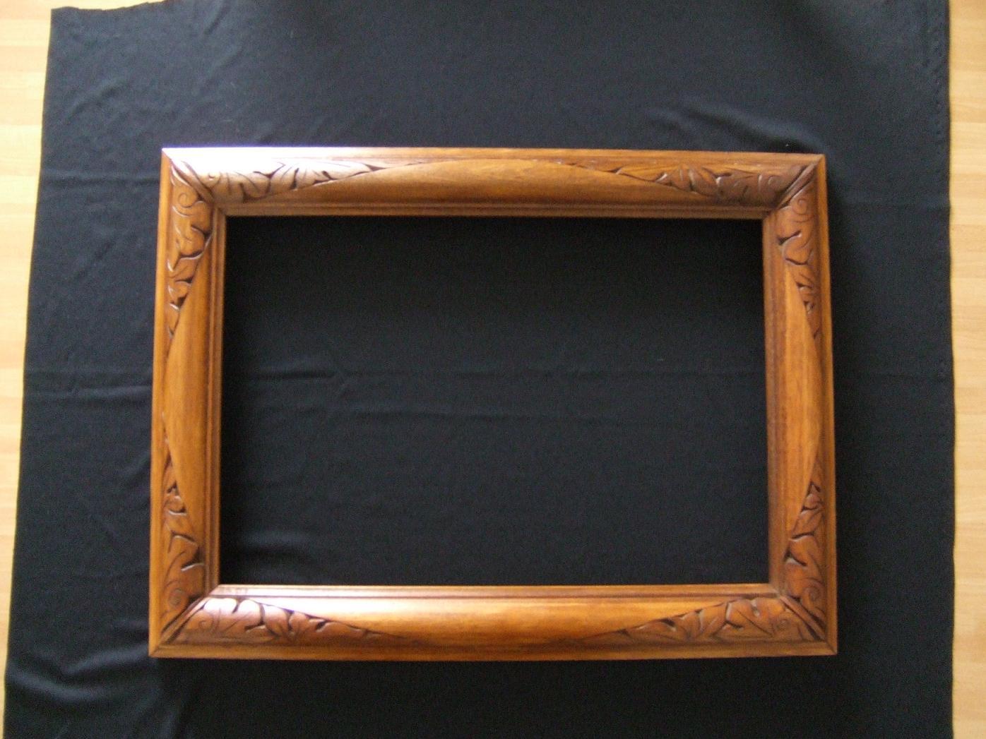 Chip carving intaglio del legno a coltello di rita for Cornice specchio