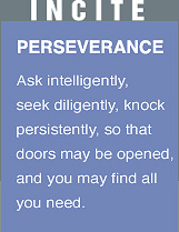 INCITE: Perseverance