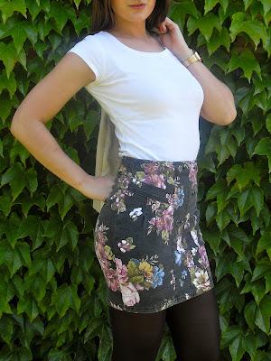 Miniskirt on Saturday morning