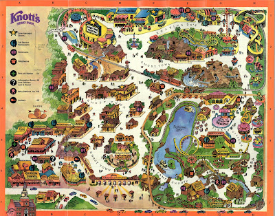 knotts berry farm map of park. Knott#39;s Berry Farm Map
