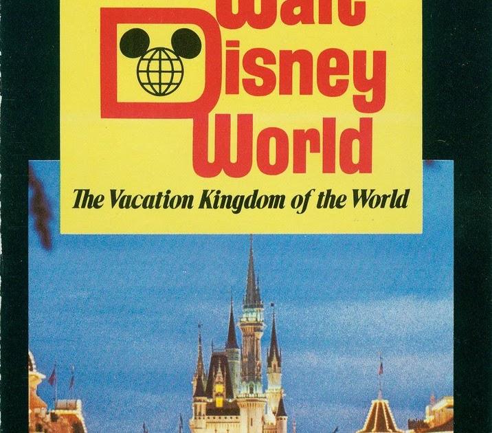 Vintage Disneyland Tickets Walt Disney World Vacation