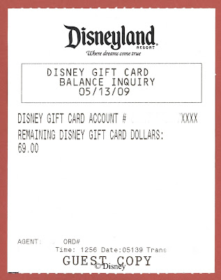 Vintage Disneyland Tickets: Disneyland Birthday Fun Card