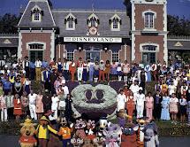 Vintage Disneyland Tickets Calendar - 1983
