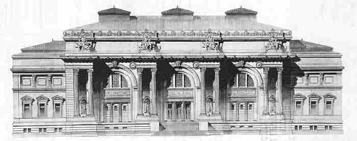 The Architect Envisioned Building Executed In Glimmering White Marble This Was Unfortunately Middle Of Great Depression That Lasted From 1893