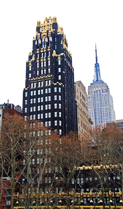 Daytonian In Manhattan: Breaking Ground In Black And Gold