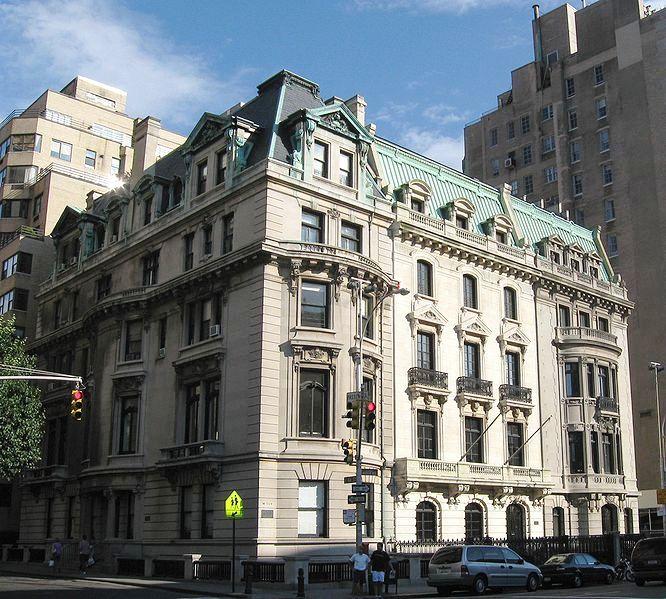 New York Manhatten: Daytonian In Manhattan: The 1901 Jonathon Thorne House