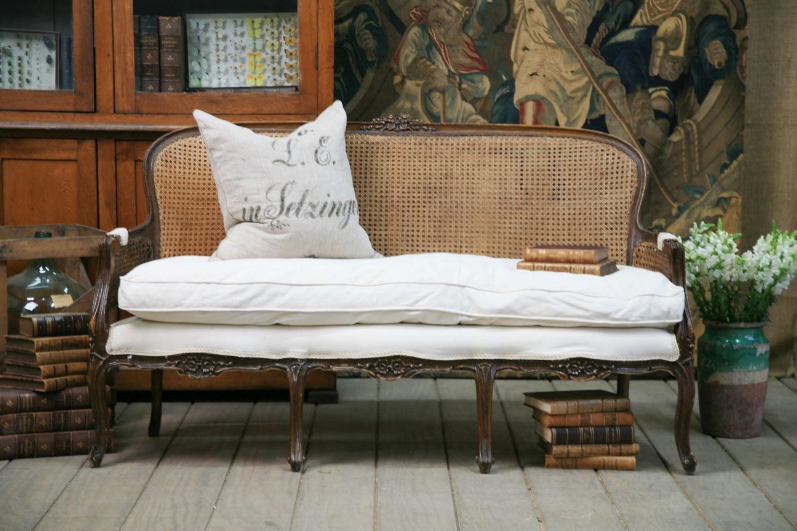 1930 cane back sofa sleeper under 500 antique furniture foter thesofa