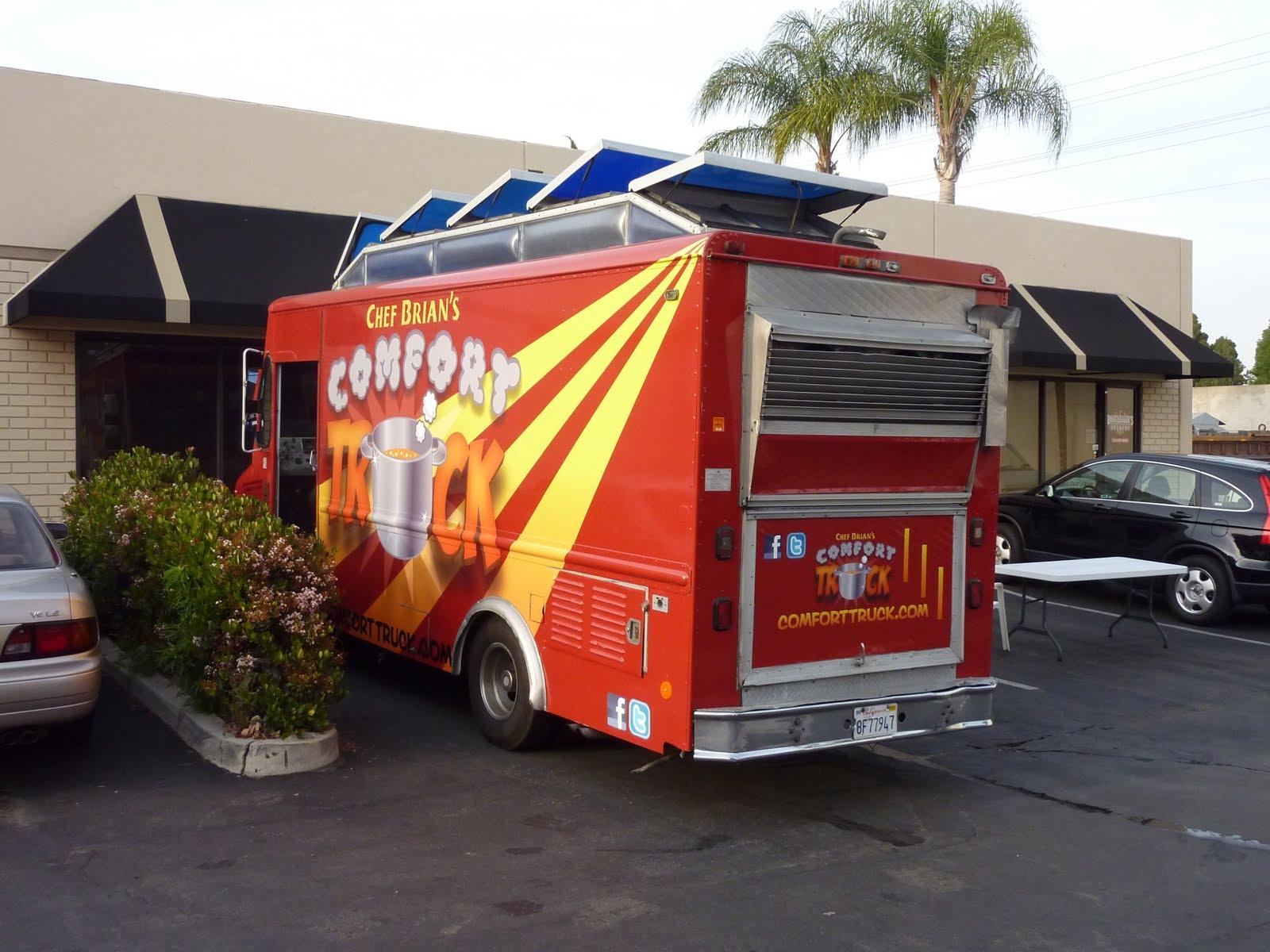 Cravings Food Truck Menu