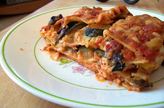 Colorful Vegetable Lasagna