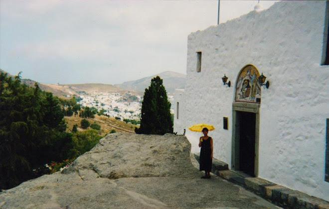 caverna onde S.João escreveu o apocalipse