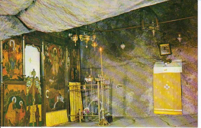 Caverna onde São João viveu e escreveu o Apocalipse
