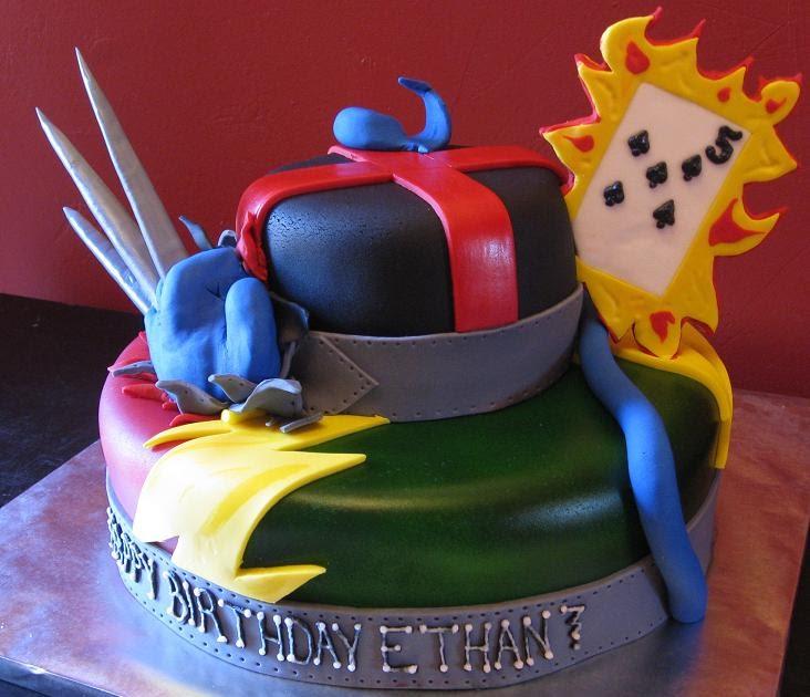 Katie S Cakes X Men Cake