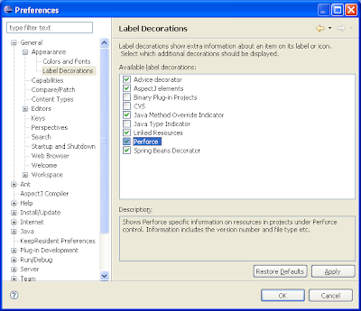 robertmaldon: Instaling and Configuring the Perforce Eclipse