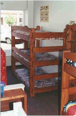 Triple Bunk Bed 100 Memories Priceless