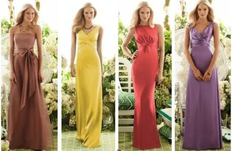 vestidos longos de madrinha 2011