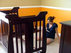 Assembling The Boys' Crib