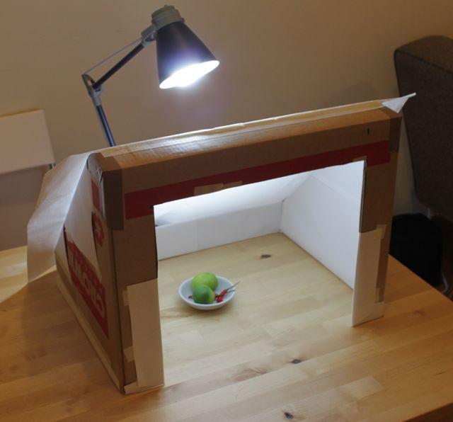 Make A Lightbox Photography Food