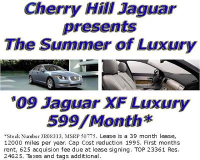 Cherry Hill Jaguar News