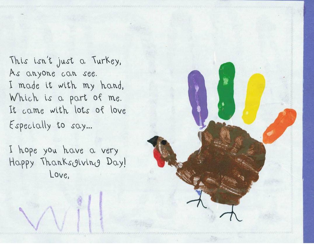 Thanksgiving Kindergarten Art