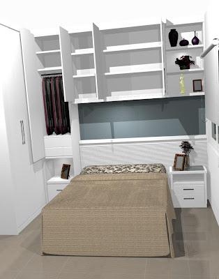 fotos de quartos de casais planejados