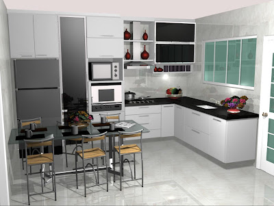 armario planejado de cozinha