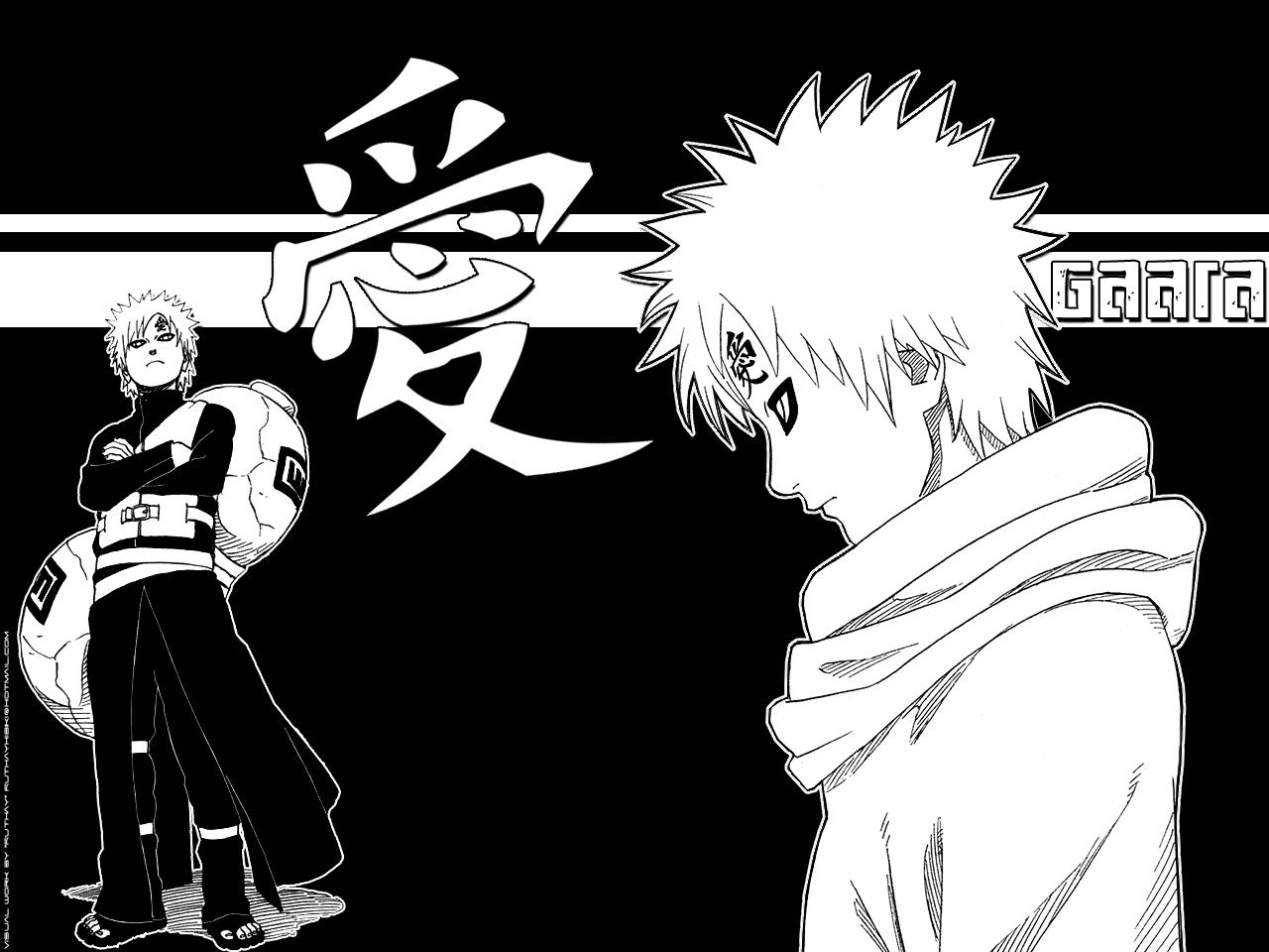 Nice Spread: Gaara Naruto Shippuden Wallpaper