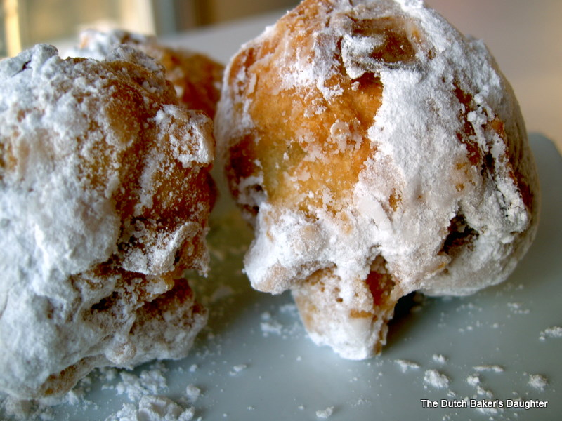 The Dutch Baker S Daughter Oliebollen A New Year S Eve Tradition