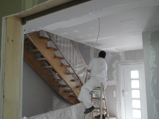 familie trojniak hennig unser haustagebuch malerarbeiten spachteln und schleifen. Black Bedroom Furniture Sets. Home Design Ideas