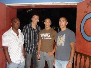 Flavio, Mathieu, Fabien et Nicolas