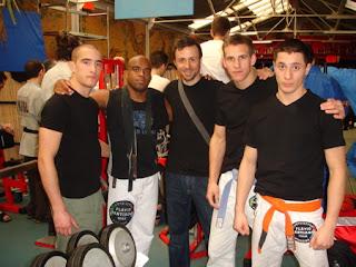 Nicolas, Flavio, Nicolas Vialatte, Mathieu et Fabien